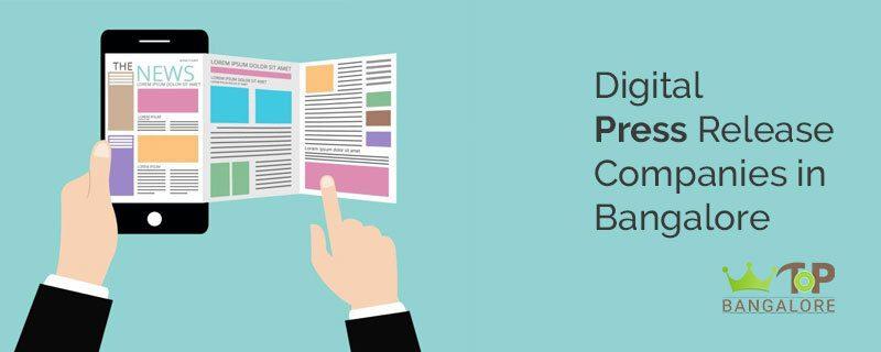 Digital Press Release Companies in Bangalore