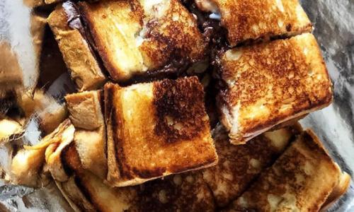 Chocolate sandwich. Photo credits: Instagram - @_she_who_eats__(Ashwini Gowda)